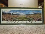 Green Bay Packers - Framed Panoramic Poster of Lambeau Field titles