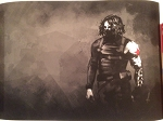 Marvel's Captain America - The Winter Soldier Bucky Barnes Print/Lithograph (?)  -