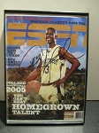 Chris Paul Signed November 2004 ESPN Mini Magazine Cover Reprint/Copy - Wake Forest #44/250
