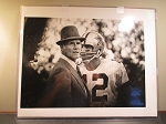Roger Staubach and Tom Landry -